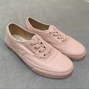 Pink Leather VANS